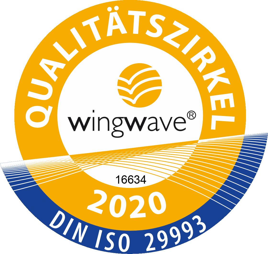 wingwave Qualitätssiegel Link